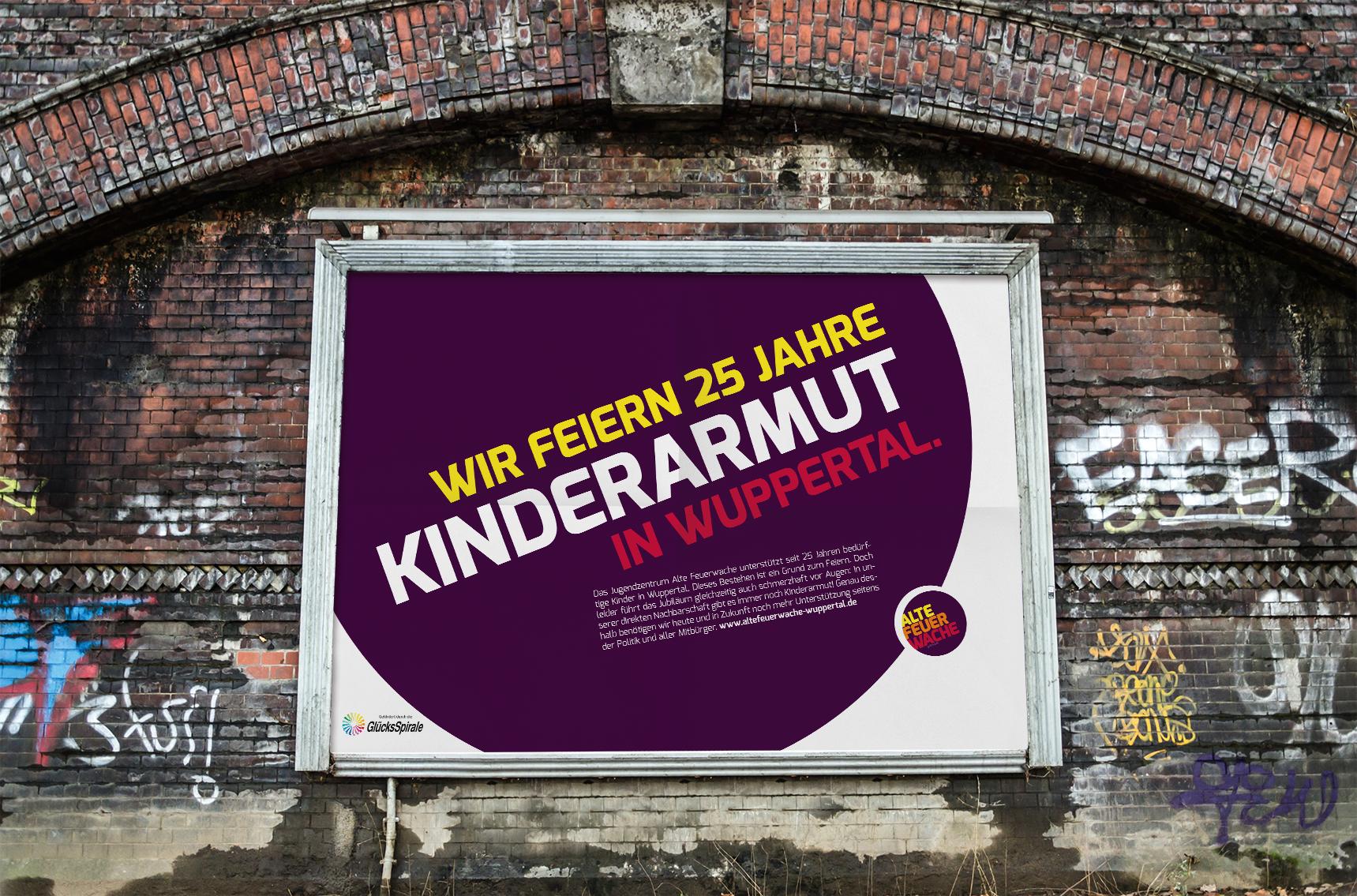 Wir feiern 25 Jahre Kinderarmut in Wuppertal – Auflösung